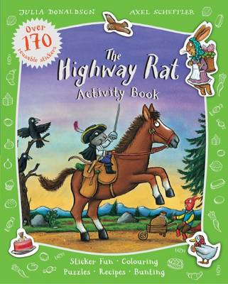 The Highway Rat Activity Book by Julia Donaldson