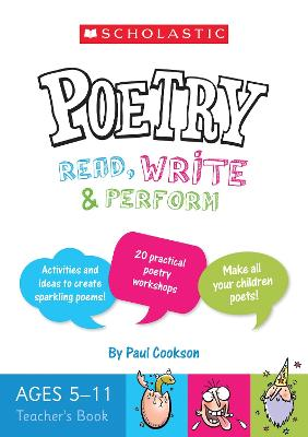 Poetry Teacher's Book (Ages 5-11) by Paul Cookson