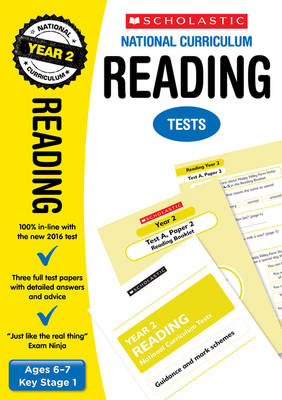 Reading Tests (Year 2) by Lesley Fletcher, Graham Fletcher