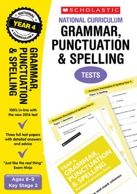 Grammar, Punctuation and Spelling Test - Year 4 by Catherine Casey