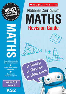 Maths Revision Guide - Year 4 by Paul Hollin