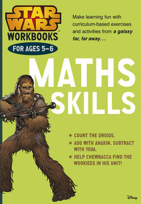 Star Wars Workbooks: Maths Skills Ages 5-6 by