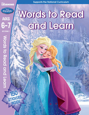 Frozen - English Vocabulary (Year 2, Ages 6-7) by