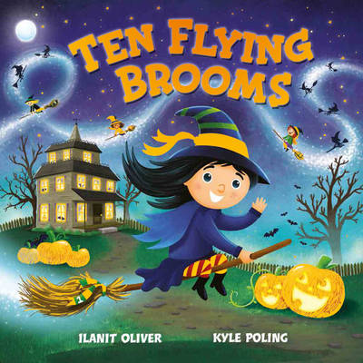 Ten Flying Brooms by Ilanit Oliver