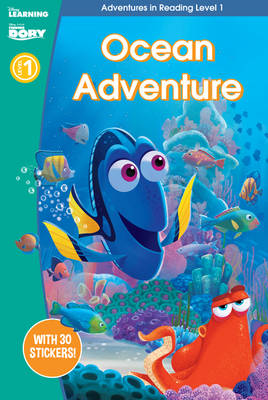 Finding Dory: Ocean Adventure (Adventures in Reading, Level 1) by Scholastic