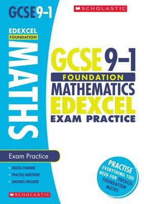 Maths Foundation Exam Practice Book for Edexcel by Naomi Norman