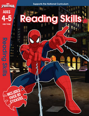 Spider-Man: Reading Skills, Ages 4-5 by Scholastic