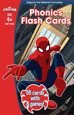Spider-Man: Phonics Flash Cards by Scholastic