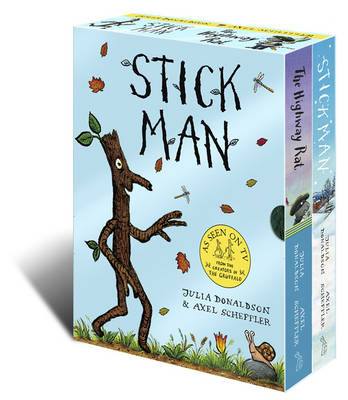 Stick Man & The Highway Rat Board Book Box Set by Julia Donaldson