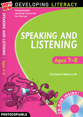 Speaking and Listening: Ages 7-8 by Christine Moorcroft