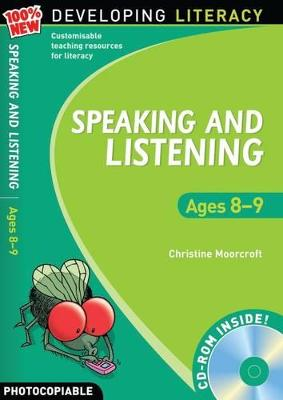 Speaking and Listening: Ages 8-9 by Christine Moorcroft