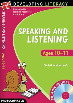 Speaking and Listening: Ages 10-11 by Christine Moorcroft