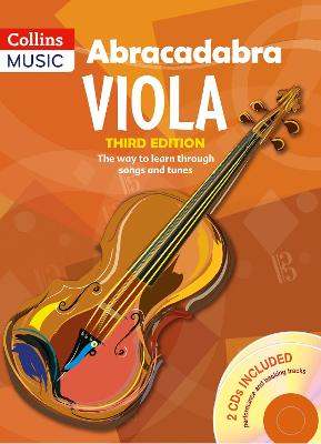 Abracadabra Viola (Pupil's book + 2 CDs) The Way to Learn Through Songs and Tunes by Peter Davey