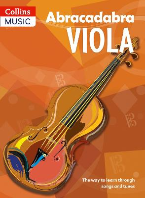 Abracadabra Viola (Pupil's book) The Way to Learn Through Songs and Tunes by Peter Davey