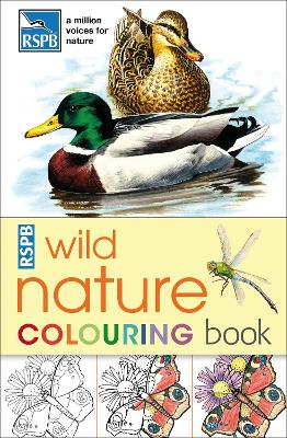 RSPB Wild Nature Colouring Book by