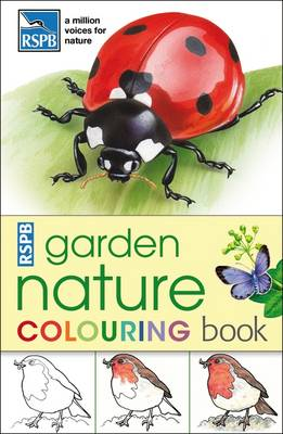 RSPB Garden Nature Colouring Book by