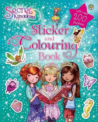 Secret Kingdom: Sticker and Colouring Book by Rosie Banks