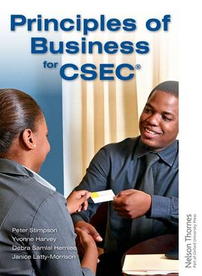Principles of Business for CSEC by Peter Stimpson