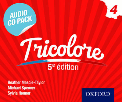 Tricolore 5e edition Audio CD Pack 3 by Heather Mascie-Taylor, Sylvia Honnor, Michael Spencer