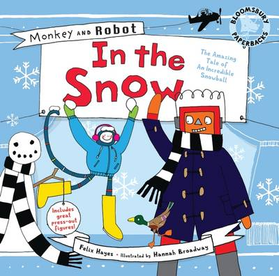 Monkey and Robot: In the Snow by Felix Hayes