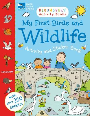 RSPB My First Birds and Wildlife Activity and Sticker Book by Simon Abbott
