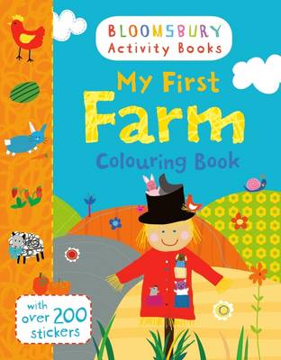 My First Farm Colouring Book by