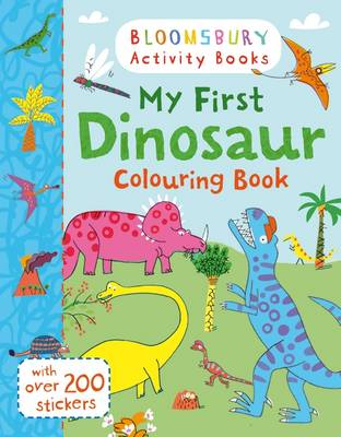 My First Dinosaur Colouring Book by