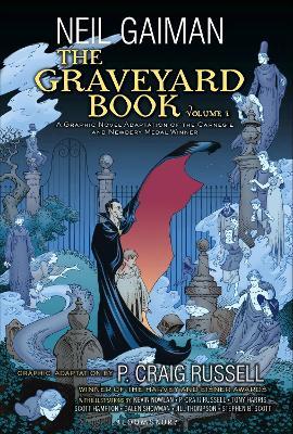 Graveyard Book Graphic Novel by Neil Gaiman