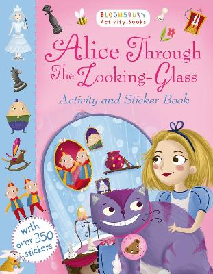 Alice Through the Looking Glass Activity and Sticker Book by