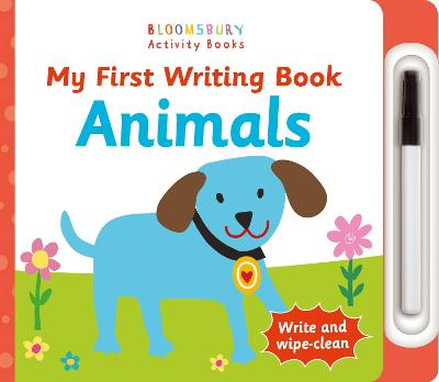 My First Writing Book Animals by
