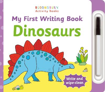 My First Writing Book Dinosaurs by