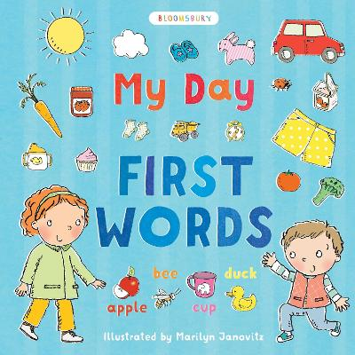 My Day: First Words by Marilyn Janovitz