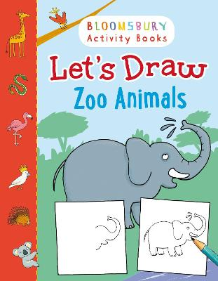 Let's Draw Zoo Animals by