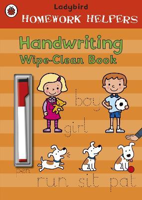 Ladybird Homework Helpers: Handwriting Wipe-Clean Book by