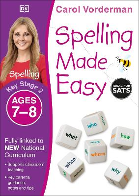 Spelling Made Easy Year 3 by Carol Vorderman