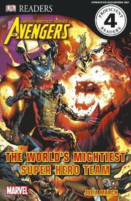 Marvel Avengers The World's Mightiest Super Hero Team by DK