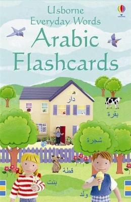 Everyday Word Flashcards In Arabic by