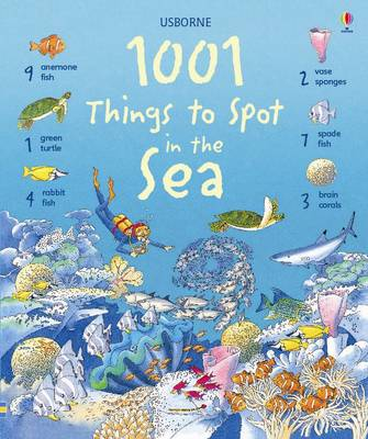 1001 Things to Spot in the Sea by Katie Daynes