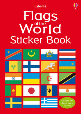 Flags of the World Sticker Book by Lisa Miles