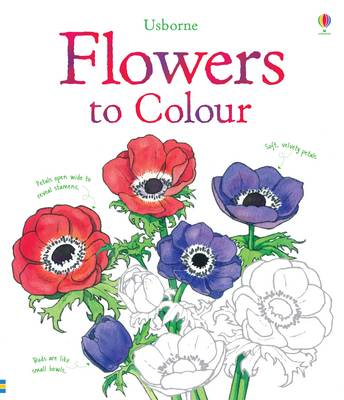 Flowers Colouring Book by Sue Meredith