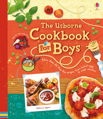 Cookbook for Boys by Abigail Wheatley