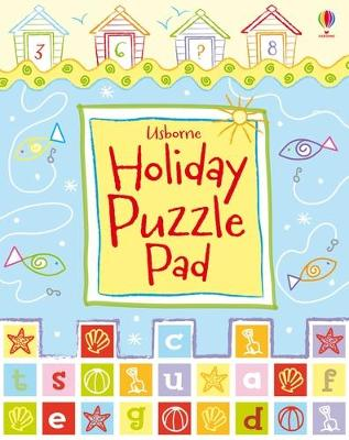 Usborne Holiday Puzzle Pad by Sarah Khan