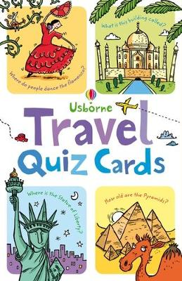 Travel Quiz Cards by Simon Tudhope