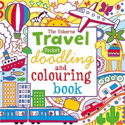 Pocket Doodling and Colouring - Travel by James Maclaine, Lucy Bowman