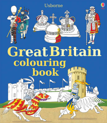 Great Britain Colouring Book by Struan Reid