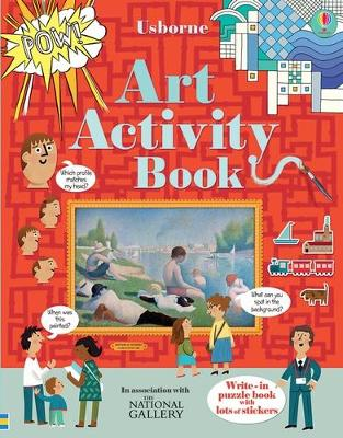 Art Activity Book by Rosie Dickins, Sam Baer