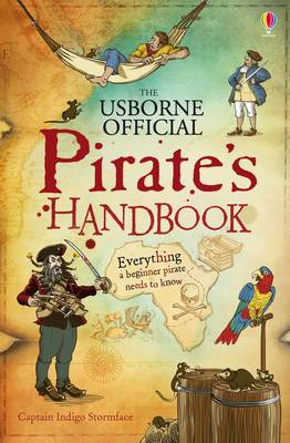 The Usborne Official Pirate's Handbook by Sam Taplin