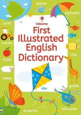 First Illustrated English Dictionary by Rachel Wardley, Jane Bingham