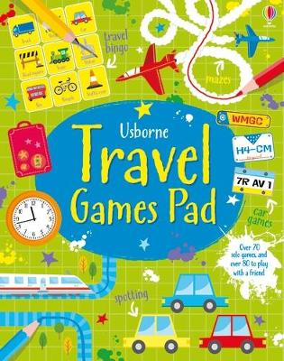 Travel Games Pad by Kirsteen Robson
