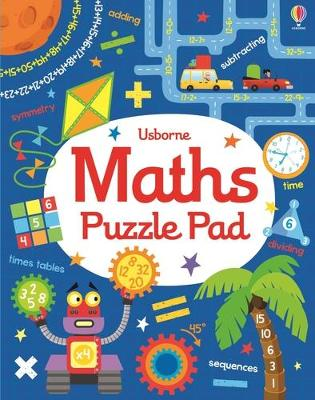 Maths Puzzles Pad by Kirsteen Robson